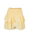 Neo Noir Carin nederdel i gul