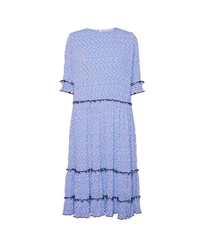 Norr Mette kjole i blå