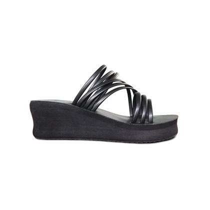 Shoe the Bear Jade Multi Slide sandal i sort