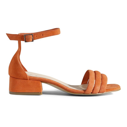 Shoe the Bear Yasmin Puff Sandal i Koral Red