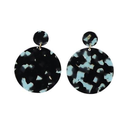 AYM Anca Shanghai green earrings