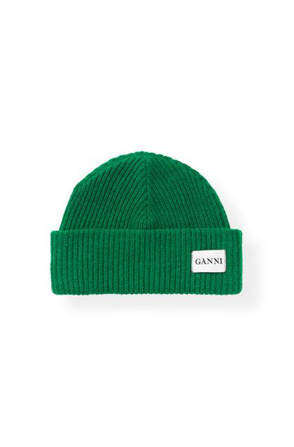 Ganni Hatley hue i grøn