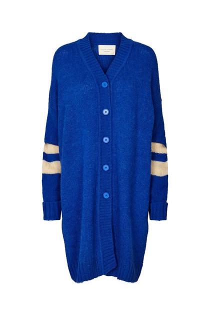 Lollys Laundry Abby Cardigan i blå