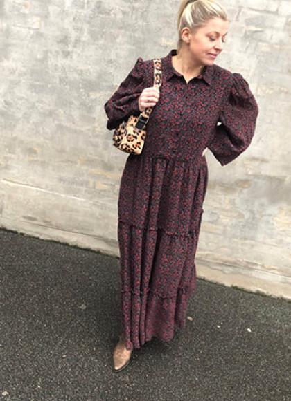 Birgitte Herskind Fidelity kjole i mønstret