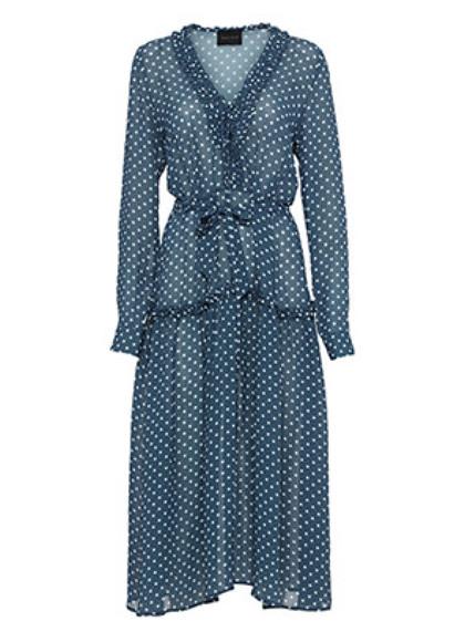 Birgitte Herskind Maggie kjole i prikket