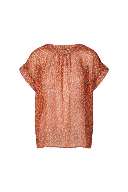 Lollys Laundry Deva bluse i orange