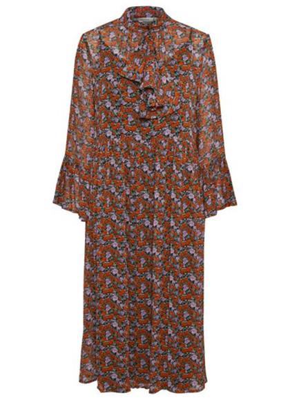 Gestuz Rosanna kjole i mønstret