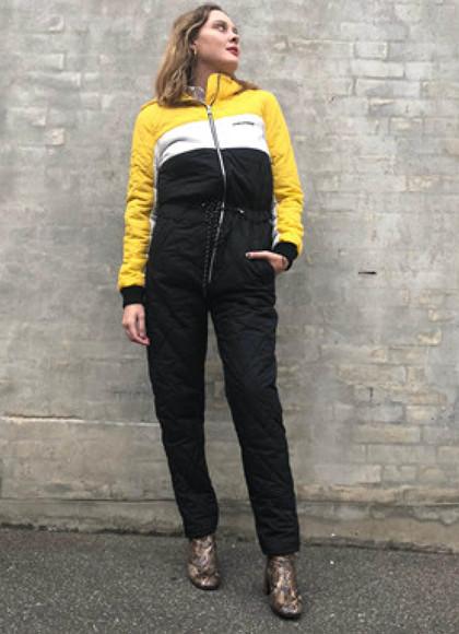 Global Funk Isolde GA Heldragt i gul og sort
