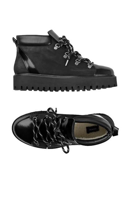 Ganni S0741 Alma støvler i sort