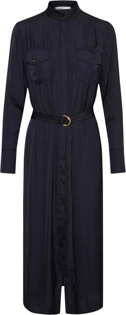 Gestuz Mesula Long Shirt kjole i navy