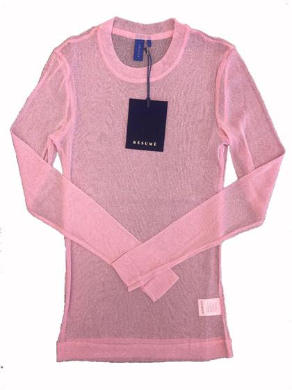 Résumé Bella bluse i lyserød