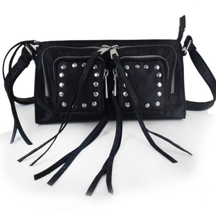 Núnoo Stine Sport taske i sort