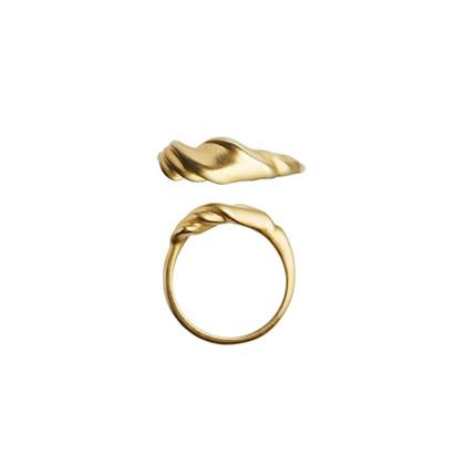 Stine A Velvet ring i forgyldt sølv