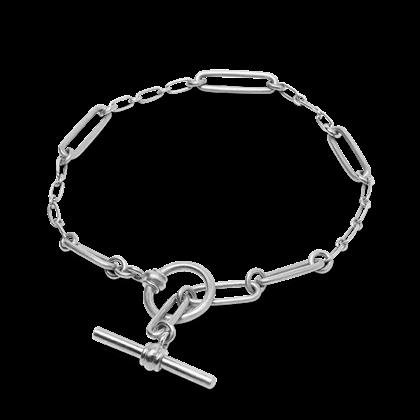 Jane Kønig bridle armbånd i sølv