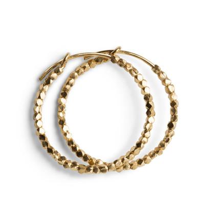 Jane Kønig Creol med perler i guldbelagt sølv