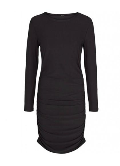 Liberté Alma long kjole i sort STR M-L