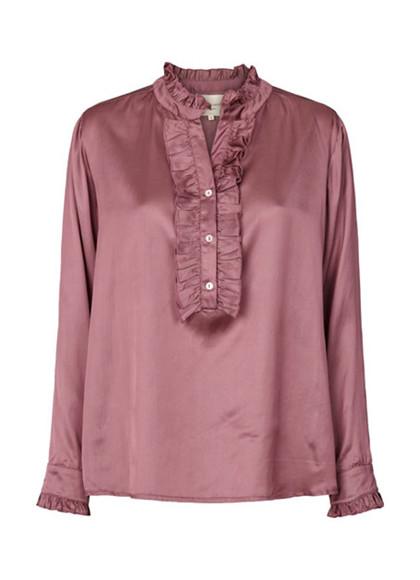 Lollys Laundry Franka skjorte i lilla