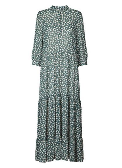 Lollys Laundry Nee kjole i grøn