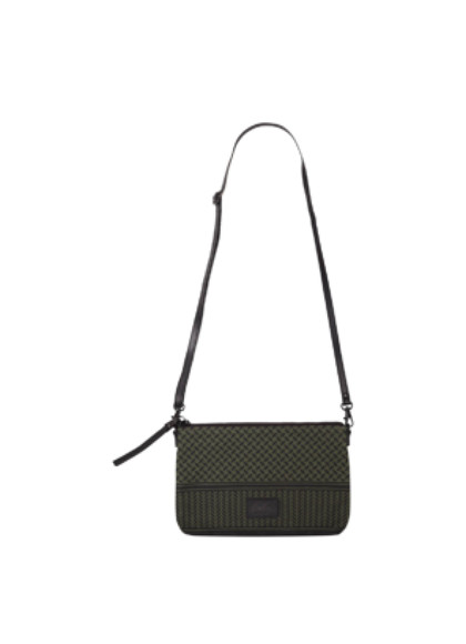 Lala Berlin shoulder bag Fabinana Canvas taske i grøn