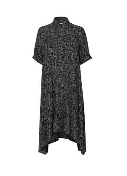 Mads Nørgaard Dancella dot kjole i sort