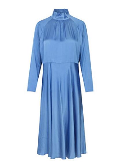 Mads Nørgaard Dromma kjole i blå