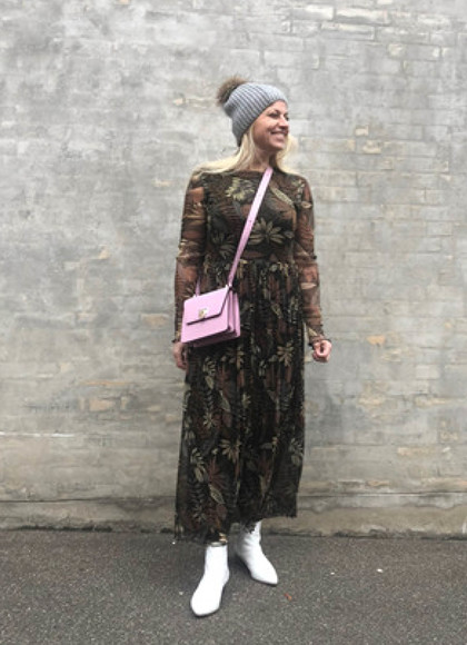 Moves by Minimum Marisan kjole i mønstret