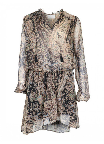 Neo Noir Flora Printed kjole i paisley