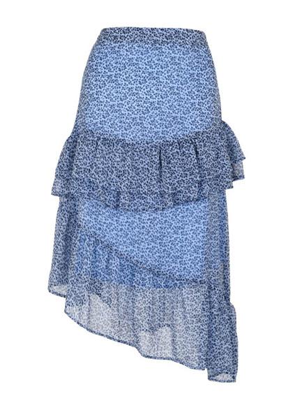 Neo Noir Kristin nederdel i blå