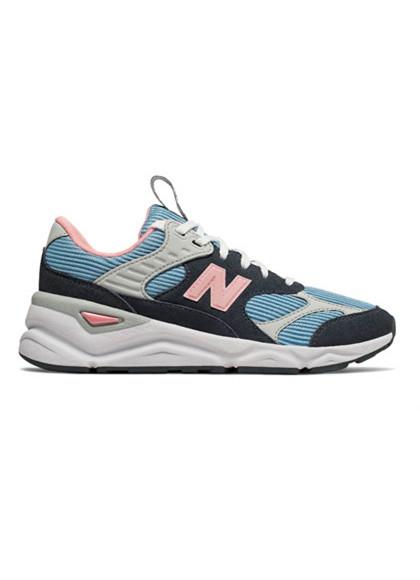 New Balance WSX90TLU X-90 sneakers i blå