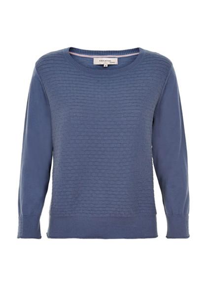 Noa Noa 1-8895-2 pullover i blå