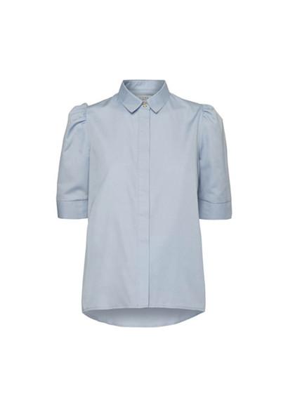 NORR Billie skjorte i blå