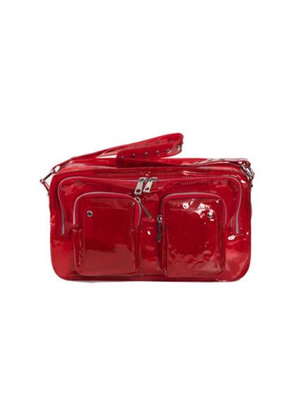 Núnoo style S 54 NW gennemsigtig taske i rød