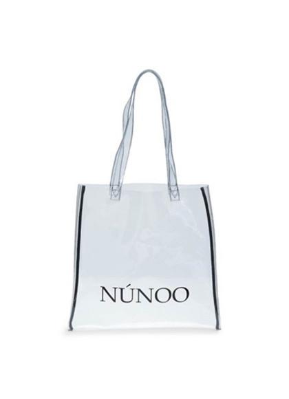 Núnoo lille transparent taske