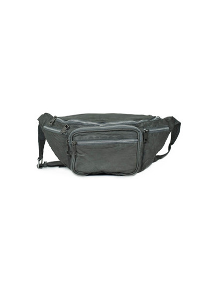 Núnoo Yoo Washed Rock bæltetaske i grå