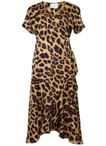 Neo Noir Magga kjole i leopard