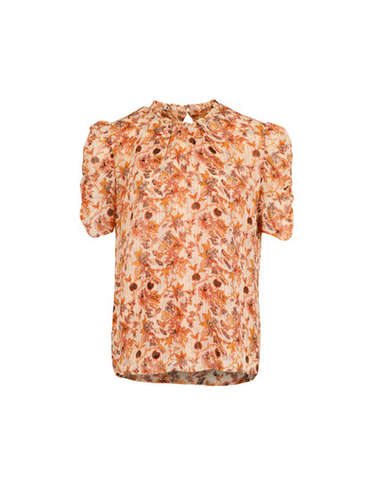 Neo Noir Dorris Golden t-shirt i orange