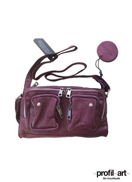 Núnoo Stine taske i mørk lilla