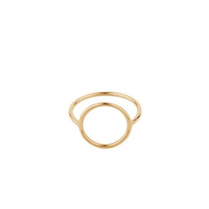 Pernille Corydon Halo ring i forgyldt sølv