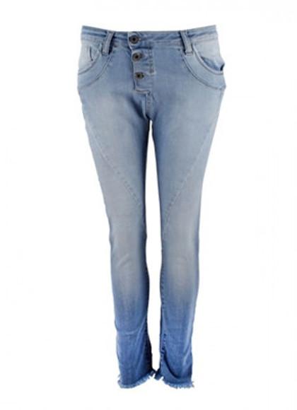 Please Jeans P47Q Jeans i lysblå
