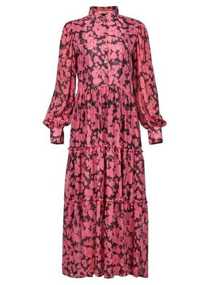Rue De Femme Løkke maxidress kjole i lyserød