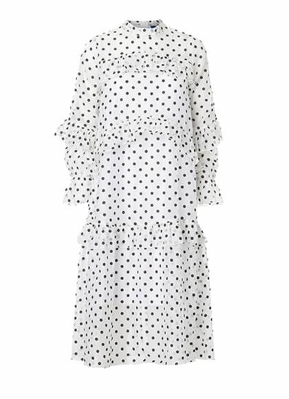 Résumé Luna kjole i hvid