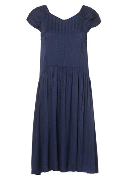 Résumé Mae kjole i navy