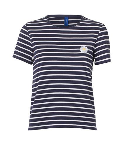 Résumé Daisy T-shirt i navy