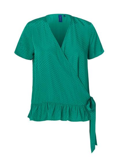 Résumé Haven bluse i grøn