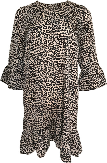 Neo Noir Rebecca kjole i leo