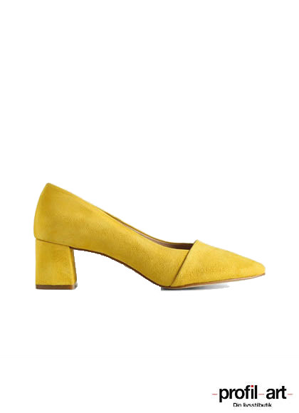 Shoe the Bear Allison pump i gul
