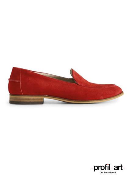 Shoe the bear Juno loafer i rød