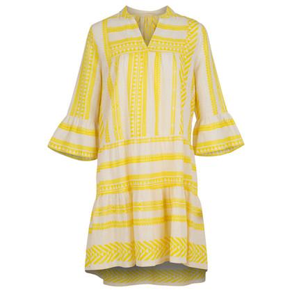 Neo Noir Gunvor Aztec dress i gul