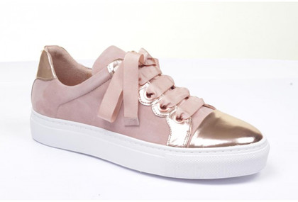 Billi Bi sneakers i rosa m. metallic