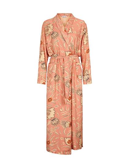 Second Female Frappo Kimono i støvet lyserød